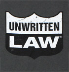 Unwritten Law logo design